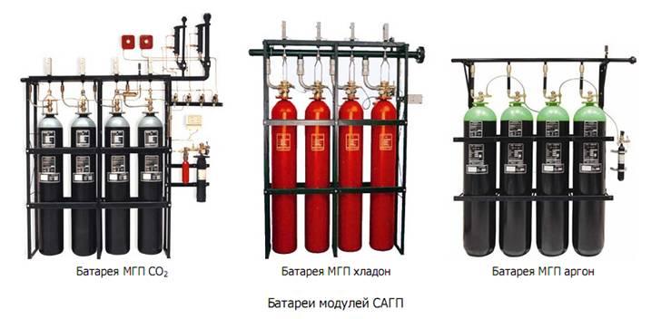 Системы газового пожаротушения